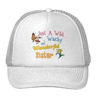 Wild Wacky Wonderful Sister Trucker Hat
