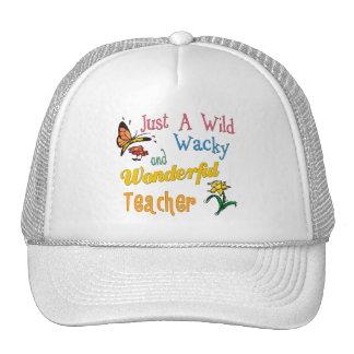 Wild Wacky Wonderful Teacher Trucker Hat