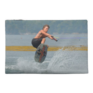 Wild Wakeboarder Travel Accessory Bag