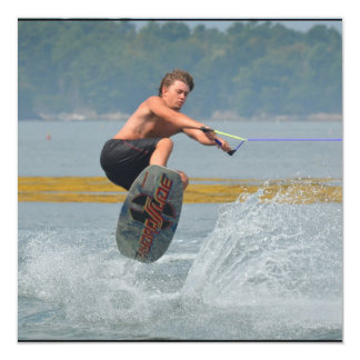 Wild Wakeboarder Personalized Invites