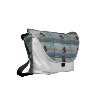Wild Wakeboarder Small Messenger Bag