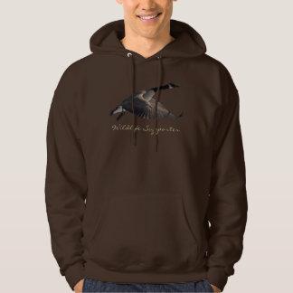 Wild Water Fowl Wildlife Bird-lover Duck design Hoodie