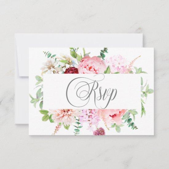 Wild Watercolor Garden | RSVP Card