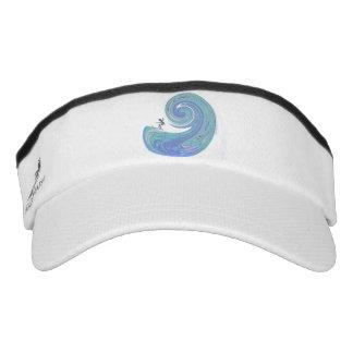 Wild wave visor