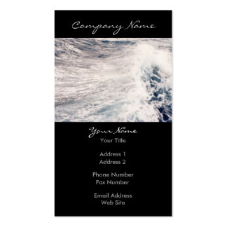 Wild Waves Photo Business Card