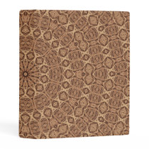 Wild West Brown Rope Kaleidoscope Mini Binder