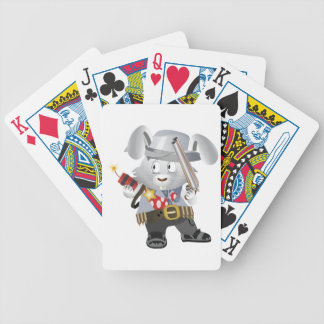 Wild West Bunny Bicycle Playing Cards