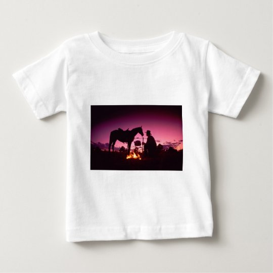 Wild West Camping Baby T-Shirt