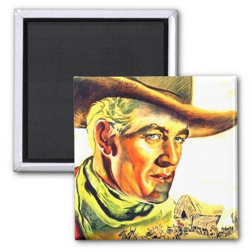 Wild West Cowboy Magnet