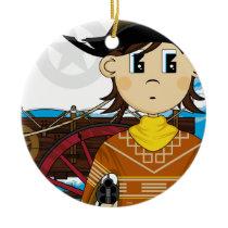 Wild West Cowboy Sheriff Ornament