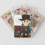Wild West Cowboy Sheriff Playing Cards