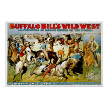 Wild West Cowboys - Poster