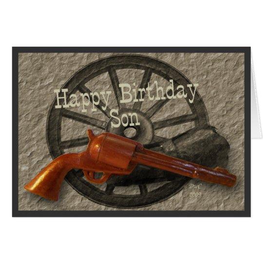 Wild West ~ Happy Birthday Son Card