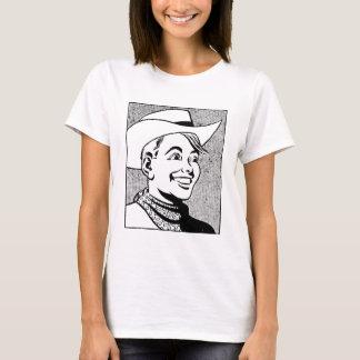 Wild West Heroes: Cute Cowboy, cartoon style T-Shirt