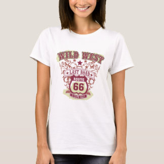 wild west last road route 66 to death valley T-Shirt