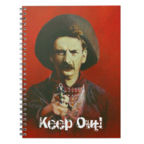 Wild West Outlaw Note Pad Notebook