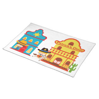 Wild West Place mat (personalize)