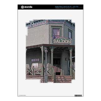 Wild West Saloon iPad 3 Decals