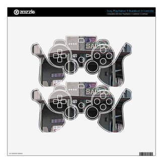 Wild West Saloon PS3 Controller Skins
