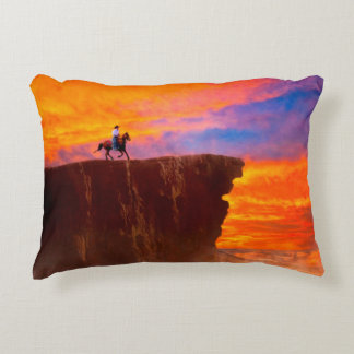 Wild West Sunsets Accent Pillow