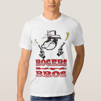 WILD WEst tshirt by rogers bros