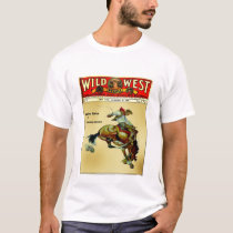 Wild West Weekly Bronc Rider Cowboy Shirt