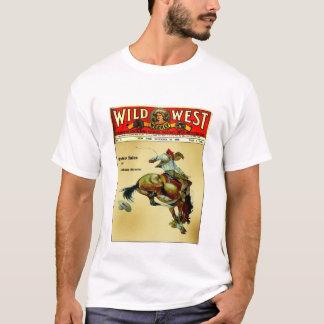 Wild West Weekly Bronc Rider Cowboy Shirt