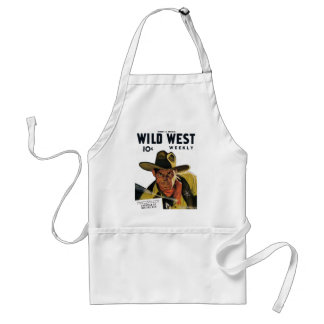 Wild West Weekly - Frontier of Missing Men Apron
