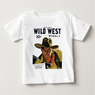Wild West Weekly - Frontier of Missing Men Infant T-shirt
