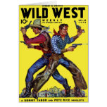 Wild West Weekly Nov. 1938  Card
