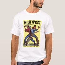 Wild West Weekly Nov. 1938 Tee  Shirt