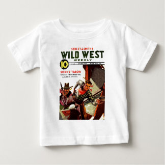 Wild West Weekly - Sonny Tabor Baby T-Shirt