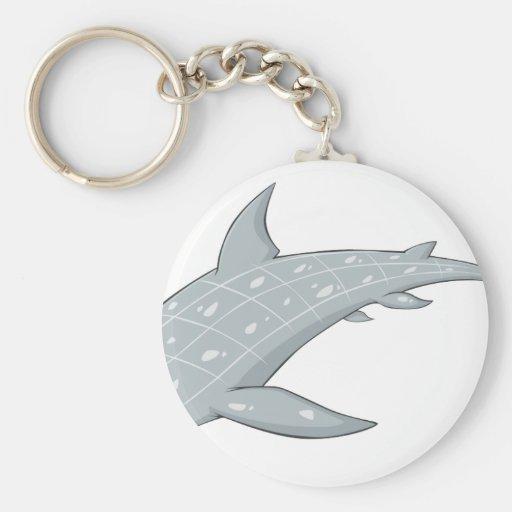 Wild Whale Shark Key Chain