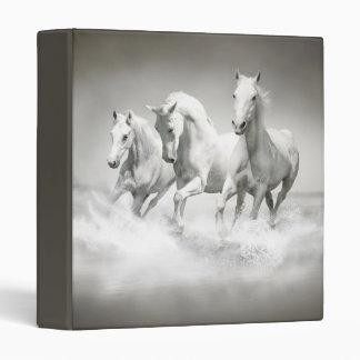 Wild White Horses Binder
