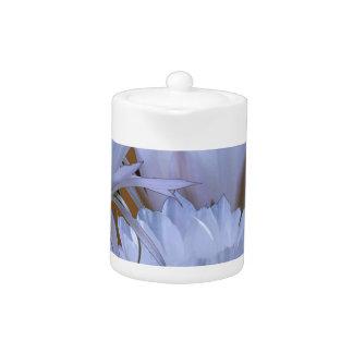 Wild White Lilly Flower :  Amazing world of nature Teapot