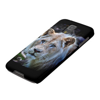 Wild White Lion Cub Big Cat Cases For Galaxy S5