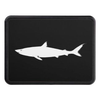 wild white shark tow hitch covers