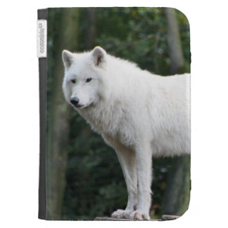 Wild White Wolf Kindle 3G Covers