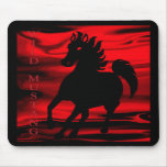 Wild Wild Mustang Mouse Pad