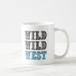 Wild Wild West! - Blue Coffee Mug