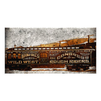 Wild Wild West Buffalo Bill Old Train Cards