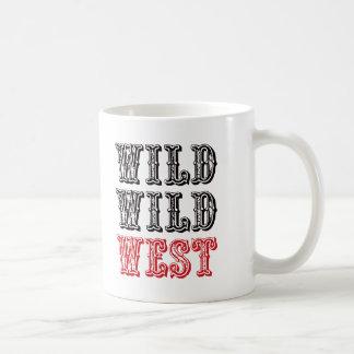 Wild Wild West! - Red Coffee Mug