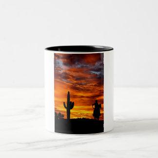Wild Wild West Two-Tone Coffee Mug