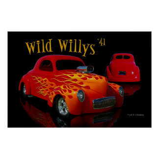 Wild Willys Poster