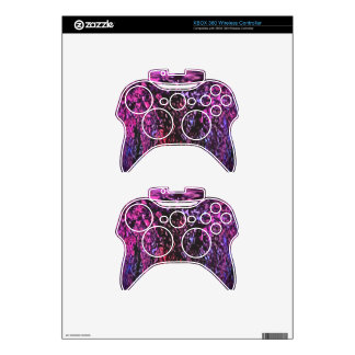 Wild Wishes Abstract Art Xbox 360 Controller Decal