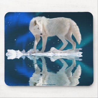 Wild Wolf Animal-lovers Mousemat Mouse Pad