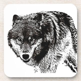 Wild Wolf Beverage Coaster