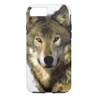 Wild Wolf Eyes iPhone 7 Case