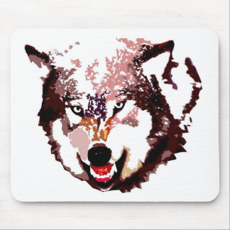 Wild Wolf Mouse Pad