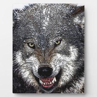 Wild Wolf Plaque